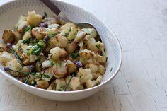 Simple cauliflower recipe .. minus the Parmesan!