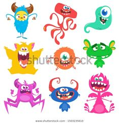 Find Cute Cartoon Monsters Set Cartoon Monsters stock images in HD and millions of other royalty-free stock photos, illustrations and vectors in the Shutterstock collection. Thousands of new, high-quality pictures added every day. Cartoon Monsters, Monster Design, Cute Creatures, Goblin, Cute Cartoon, Troll, Disney Characters, Fictional Characters, Royalty Free Stock Photos
