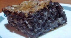 Baklava sa makom Cake Slicer, Delicious Desserts, Pie, Cooking Recipes, Poppy, Chocolate, Heaven, Torte, Cake