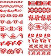 Magyar Népművészet XIV. Borsod megyei keresztszemes hímzések