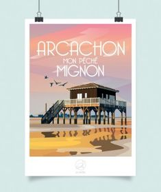 Arcachon hotels map – La Loutre – Travel and Tourism Trends 2019 Paris Illustration, Travel Illustration, Photo Illustration, Illustrations, Road Trip France, France Travel, Artist Sketchbook, Urban Sketching, Travel And Tourism