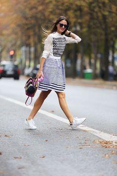 Inspiração: tênis branco ♥ #style #ootd