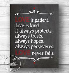 Love Never Fails -