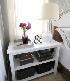 Bedside Table Idea