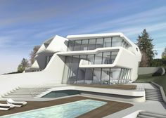 Küsnacht Villa, Zurich, Switzerland © Zaha Hadid Architects