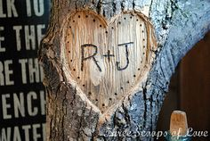 You + Me on a Tree tutorial.  Use an old branch to create a personalized Valentine's Day decoration