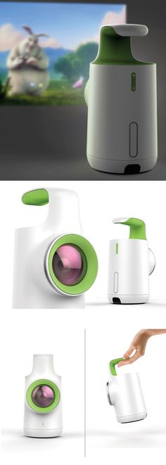 The Luma video projector is unlike any other with its super-friendly aesthetic…