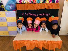 C vitamini partisi okulöncesi aile katılımı etkinliği Vitamin C
