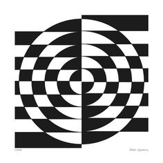 Giclee Print: Op Circles II by Paula Scaletta : Optical Illusions For Kids, Optical Illusions Drawings, Optical Illusion Paintings, Optical Illusion Quilts, Illusion Drawings, Illusion Art, Illusions Mind, Op Art Lessons, Illusion Photography