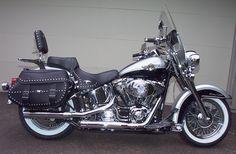 2003 Harley-Davidson FLSTC/FLSTCI Heritage Softail Classic - Google Search