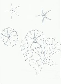 Art class ideas: Drawing a Flower