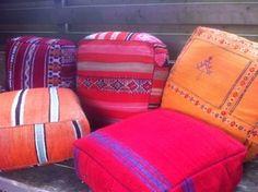 Authentieke Marokkaanse woon- zitkussens