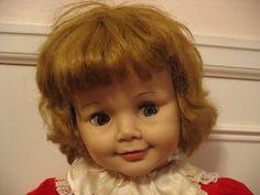 "1960 Madame Alexander Joanie Flirty Eyes 36"" Doll as Found | eBay"