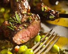 The Silence of the Lambs & Lamb chops with Fava beans.