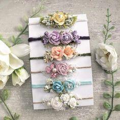 Diy Baby Headbands, Handmade Headbands, Floral Headbands, Church Flower Arrangements, Maternity Photographer, Floral Crown, Small Flowers, Xmas Gifts, Hair Accessories