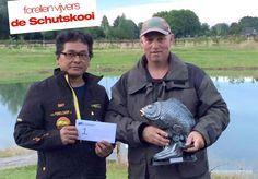 Gert Nabbe & Davy Beer winnen koppelwedstrijd Schutskooi