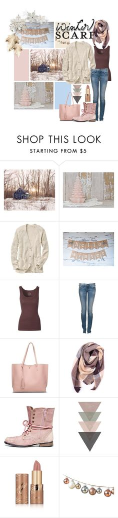 """""""pastel winter"""" by opheliaifeelya ❤ liked on Polyvore featuring Gap, True Religion, Everest, Steve Madden and tarte"""