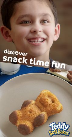 Keep the fun going after a day of play. There's so much to discover with Teddy Soft Bakes.
