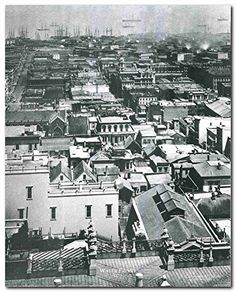 Wall Art Prints Fine Decor Vintage Black And White City Pictures House