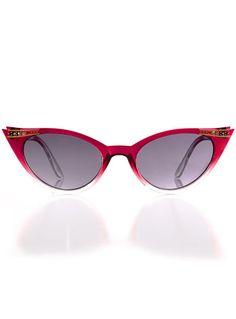 Cherry Ombre Luella Sunglasses at PLASTICLAND