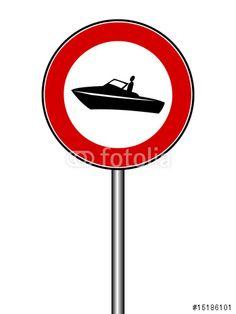 """Laden Sie den lizenzfreien Vektor """"Motorboote verboten"""" zum günstigen Preis. Stöbern Sie in unserer Bilddatenbank (de.fotolia.com/...) und finden Sie schnell das perfekte Stockbild !"""