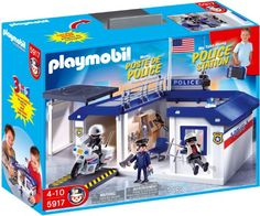 Playmobil Take Along Police Station Playset >>> You can find more details by visiting the image link.