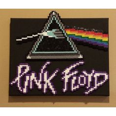 Dark Side of The Moon - Pink Floyd perler beads by fsugal33