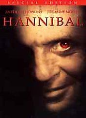 Anthony Hopkins Julianne Moore in Hannibal DVD 2001 2 Disc Set Special Edition