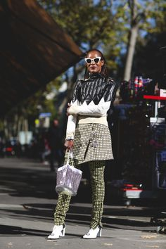 df12b8ef617f Every Must-See Street Style Look From Paris Fashion Week