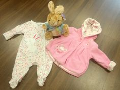 Keep your little one as cute as an Easter bunny! Available at our Moorland Road charity shop. Rabbit onesie - £1.75 Rabbit jacket - £3.50 Easter bunny toy - £1.75