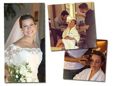 Fernanda Souza arrasou também na maquiagem de seu casamento