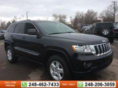 2013 Jeep Grand Cherokee Laredo 42k miles $22,997 42446 miles 248-462-7433 Transmission: Automatic  #Jeep #Grand Cherokee #used #cars #GollingChrysler #Waterford #MI #tapcars