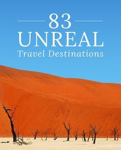 83 невероятных места для путешествия. Часть 5. путешествия, природа, 83 места, красота, список, длиннопост