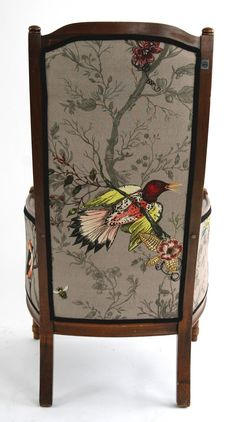 Furniture - Timorous Beasties BIRD N BEES DREICH CHAIR