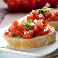 broil king Bruschetta recipe