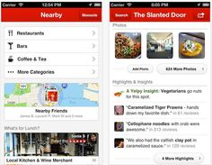 Yelp app for iphone makes you Reserve your Restaurant