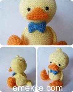 Part 2: Amigurumi Emma Bebek Yapılışı ( Free Crochet Pattern) Eng ... | 296x236