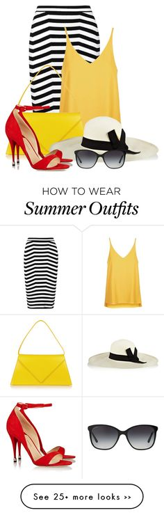 """""""Summer Hat (OUTFIT ONLY!)"""" by bliznec on Polyvore"""