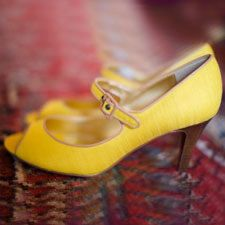 yellow heels for wedding - Google Search
