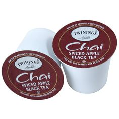 Twinings Keurig Brewed Black Tea Spiced Apple Chai -- 12 K-Cups -- More info could be found at the image url. (This is an affiliate link) #BlackTea