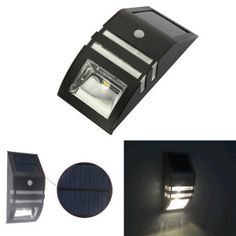 Stainless Steel ABS Solar Motion Sensor Super Bright LED Wall Light for Pathway / Staircase / Step / Garden / Yard luces solares Solar Step Lights, Solar Pathway Lights, Solar Wall Lights, Landscape Lighting, Outdoor Lighting, Light Sensor, Outdoor Projects, Bright, Abs