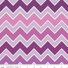 Nap Mat  Monogrammed Grape Shaded Chevron Nap by PreciousnProsper