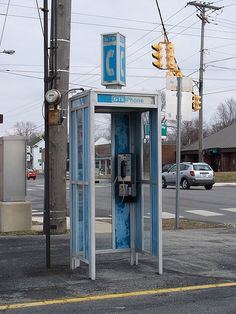 <3  Phone Booths & Pay Phones