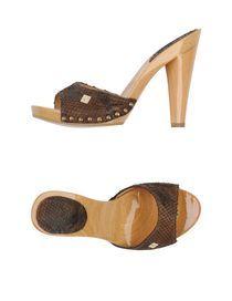 CRISTINAEFFE - Sandals Wooden Sandals, New Shoes, Heeled Mules, Clogs, Platform, Heels, Women, Fashion, Clog Sandals