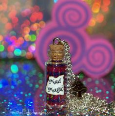 Cheshire Cat Mad Magic Necklace with a by LifeistheBubbles on Etsy. , via Etsy. I so want this!!