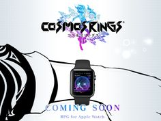 Apple Watch's first role-playing game coming from creators of Final Fantasy     - CNET                                              Square Enix                                          Square Enix creator of the venerable Final Fantasy video game series has launched a teaser website for a new role-playing game that will launch not on a powerful next-gen console but on the humble Apple Watch.  The website calls the game Cosmos Rings and simply states its coming soon. Its safe to assume that…