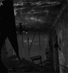 scary creepy horror anxiety scream Scared Paranoid Macabre survival horror terror paranoia silent hill scarred miedo panic Pyramid Head anxious