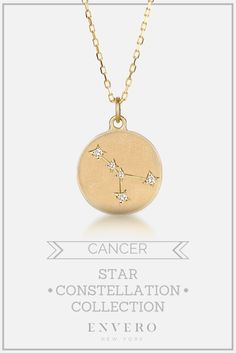 Cancer Constellation Necklace – Envero Jewelry
