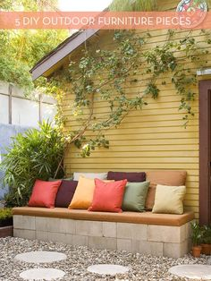 5 Pieces Of Outdoor Furniture You Can Build Yourself | Curbly