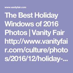 The Best Holiday Windows of 2016 Photos | Vanity Fair  http://www.vanityfair.com/culture/photos/2016/12/holiday-windows-2016?mbid=fb_ppc_ros_vanityfair